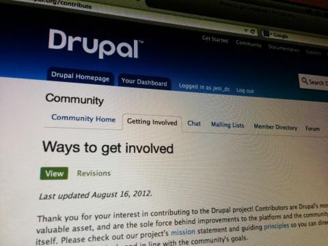 Drupal Contribute